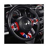 YGTY para BMW Mini Cooper Countryman F54 F55 F56 F57 F60 Dirección JCW Car Styling Rueda De Coche De Múltiples Funciones del Botón Vinilo Decorativo Coche Interior De Cubierta (Color : 9)
