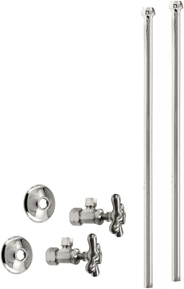 Westbrass Bullnose Faucet Kit with Cross Lowest price challenge 3 OD 8