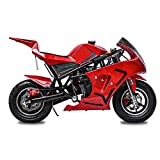 Fit Right 2020 Mini Gas Pocket Bike 03 On 40cc 4 Stroke, Support Up to 165 lbs, EPA Approved, Perfect Mini Pocket Bike for Kids- Ultra...