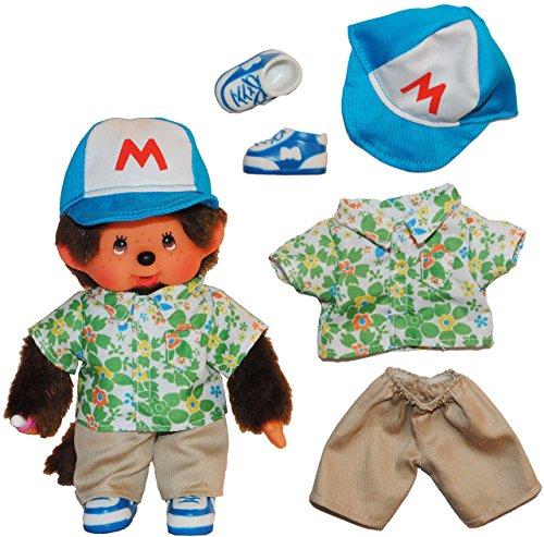 alles-meine.de GmbH 5 TLG. Set Puppenkleidung Monchhichi Baseball Sport Kleidung Bekleidung Junge Monchichi