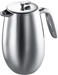 BaoYPP Cafetera de émbolo Electrodomésticos Doble Capa de Acero Inoxidable Filtro de Acero Inoxidable French Press Coffee ...