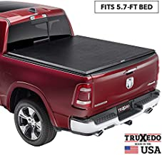 TruXedo TruXport Soft Roll Up Truck Bed Tonneau Cover | 285901 | fits 2019 - 2020 New Body Style Ram 1500 with or without Multi-Fucntion (Split) Tailgate 5'7