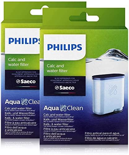 Saeco CA6903/01 Aqua Clean e filtro dell' acqua (per Saeco e Philips caffè automatiche, confezione doppia)