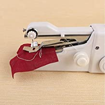 Elisco Handy Stitch Sewing Machine for Home Tailoring DIY, AC/DC Electric Mini Portable Cordless Stitching Handheld Manual...