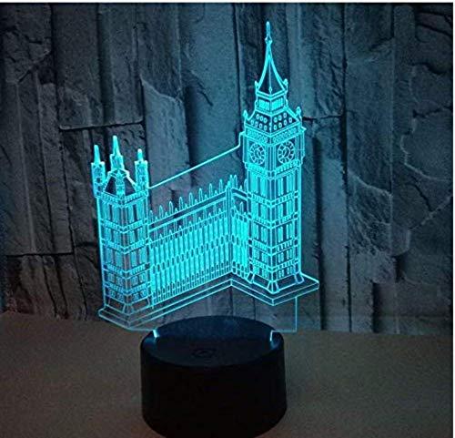 Nachtlampje kleurrijke touch geleid kijklicht cadeau-klantspecifieke tafellamp van acryl3d