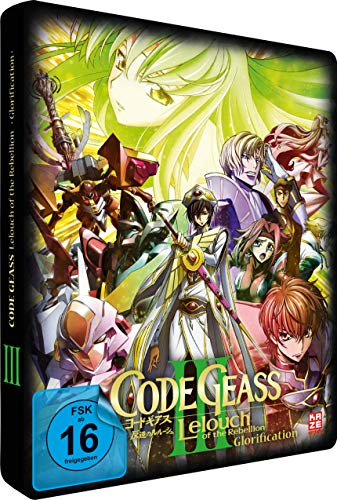 Code Geass: Lelouch of the Rebellion - Glorification - Movie 3 - [DVD]