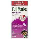 Full Marks Solution, 4 Treatments, 200ml