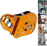 LXNQG Câble de Protection Contre Les Chutes, équipement d'escalade pour Corde 10-13mm, Prise de Corde réglable pour la spéléologie Rapelling Rescue,