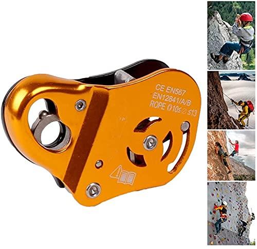 LXNQG Câble de Protection Contre Les Chutes, équipement d escalade pour Corde 10-13mm, Prise de Corde réglable pour la spéléologie Rapelling Rescue,
