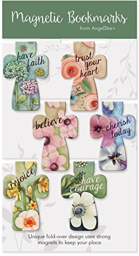 Angelstar 72487 Colorful Cross Magnetic Bookmarks, Set of 6, 2-1/4 Inches High
