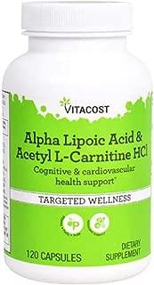Vitacost Alpha Lipoic Acid & Acetyl L-Carnitine HCl -- 120 Capsules
