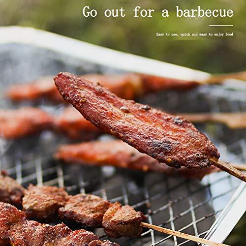 51rtBBa4DQL. SL500  - Rapoyo Griller: Handliche Einweggrills, Sofortgrill Holzkohlegrill, instant BBQ, Lange Brenndauer, Pocket Grill für Camping, Picknicks oder einfach für Ihren Garten