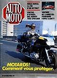 AUTO MOTO [No 36] du 01/03/1985 - MOTARDS / COMMENT VOUS PROTEGER -ROLLS ROCE / LA FIN D'UN MYTHE -SORTIES D'ECOLES / DES AGENTS TRES SPECIAUX -VOITURE DE L'ANNEE 85 / L'OPEL KADETT