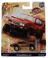 Hot Wheels Car Culture Desert Rally '70 オールズモビル 442 1/5、レッド/ゴールド