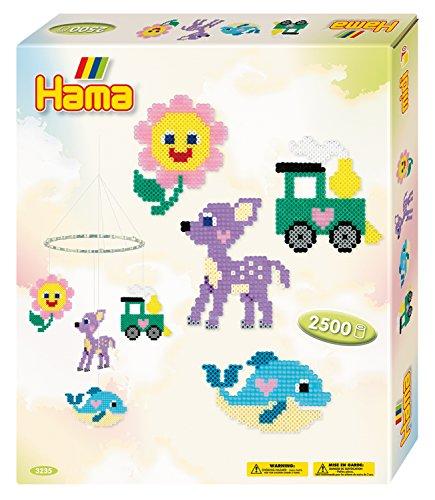 Hama 3235 - Geschenkpackung Buntes Mobile, Bügelperlen