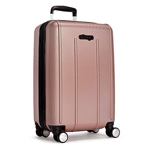 eBags EXO 21 Inches Carry-On Spinner (Rose Gold)