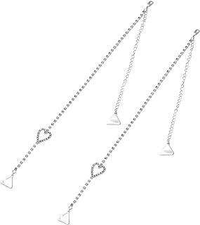 ef43c1b393cb1 BESTOYARD Rhinestone Bra Straps Crystal Bra Straps Removable Bra Strap  Replacement For Bra Tops Dress (