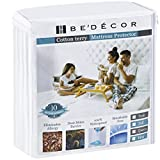Bedecor Queen Size Waterproof Mattress Protector - Breathable Noiseless and Hypoallergenic...