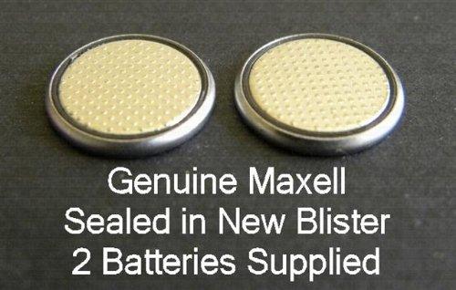 Deux (2) x Maxell CR1616 Pile bouton au lithium batterie 3 V sous blister