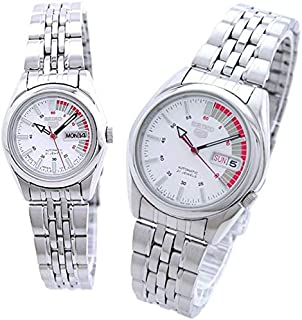 ساعة سيكو SNK369J1 مع SYMA41J1 زوجين