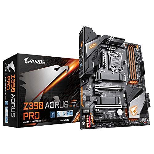 Gigabyte Z390 AORUS PRO Scheda Madre, Socket LGA1151 (Supporta processori Intel Core 9a...