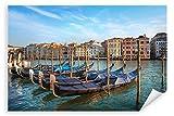 Postereck - Poster 2790 - Venedig, Italien Stadt Boote