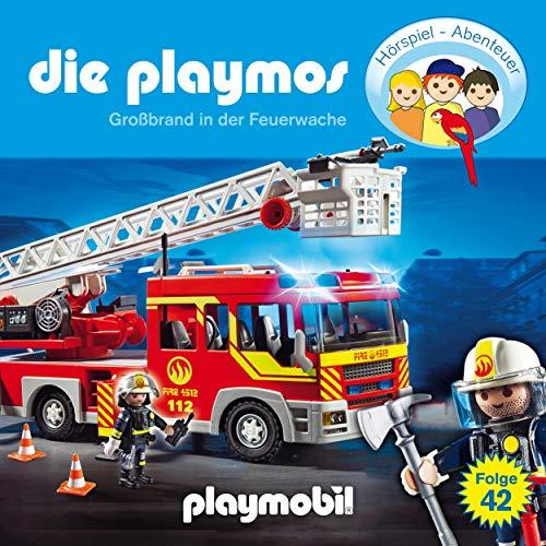 Großbrand in der Feuerwache. Das Original Playmobil Hörspiel Titelbild
