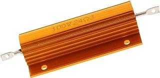 Baosity 1 Pcs 100W 24 Ohm Screw Mounted Aluminum Housed Wirewound Resistors