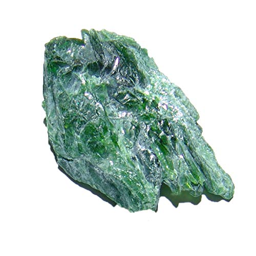 Chromdiopsid Diopsid Rohstein Rohstück ca. 20-30 mm A* Qualität schöne grüne Farbe