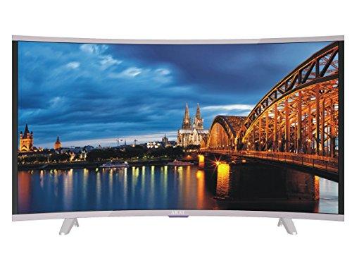 AKAI CTV400 Televisore Curvo 39 Pollici TV LED FHD 1376 x 768 pixel DVB-T2 HDMI