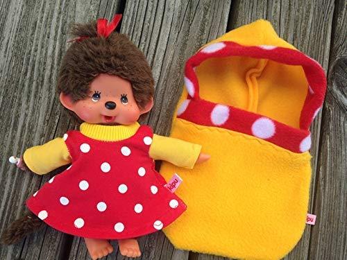 Puppenkleidung handmade für MONCHICHI Gr.20 MONCHHICHI Schlafsack Pucksack + Nachthemd NEU