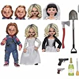 Child'S Play Scary Bride Of Chucky Doll Good Guys Chucky Pvc Action Figure Toy Horror Halloween Children'S Day Gift