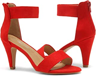 Best yellow open toe high heels Reviews