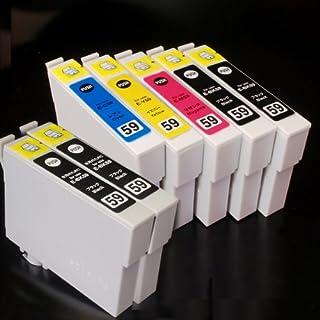 むさしのメディア EPSON(エプソン) IC5CL59+BK2 (5色+黒2個) 互換インクカートリッジ ICチップ付き 残量表示対応