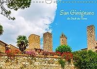 San Gimignano, die Stadt der Tuerme (Wandkalender 2022 DIN A4 quer): Impressionen aus San Gimignano, einem mittelalterlichen Kleinod in der Toskana (Monatskalender, 14 Seiten )