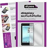 dipos I 2X Schutzfolie klar kompatibel mit Trekstor Surftab Breeze 7.0 Quad Folie Bildschirmschutzfolie