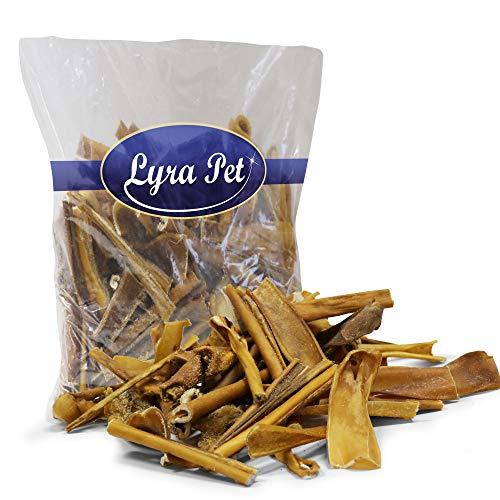 Lyra Pet® 1 kg Pferdehaut 1000 g getrocknet Kausnack Kauartikel Hundefutter Pferd Haut hypoallergen Natur