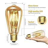 Immagine 1 albrillo led lampadina vintage edison