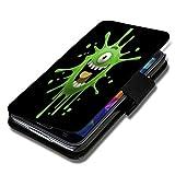 wicostar Book Style Flip Handy Tasche Hülle Schutz Hülle Schale Motiv Foto Etui für Wiko Ridge Fab 4G - Flip A51 Design8