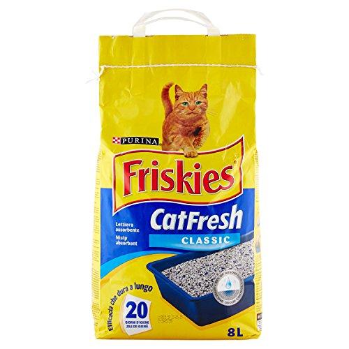 Friskies Catfresh Classic, Lettiera Assorbente - 8 L