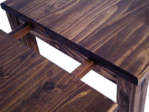 La mesa extensible con paneles removibles
