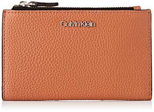 Calvin Klein Sided Cardholder Wallet, Women's Brown (Cuoio), 1x1x1 cm (W x H L)