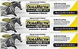 Horse Durvet Duramectin Ivermectin Paste 1.87% Dewormer Removes Worms & Bots (3 Tubes)