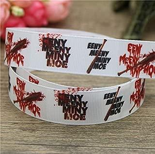 Best Quality - Ribbons - 50yards Walking Dead Eeny Meeny Miny Printed Grosgrain Ribbon Accessory hairbow Headwear Decoration Wholesale OEM DIY D836 - by Olwen Shop