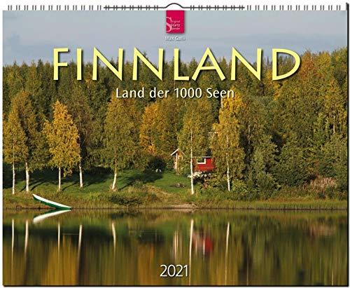 Finnland - Land der 1000 Seen: Original Stürtz-Kalender 2021 - Großformat-Kalender 60 x 48 cm
