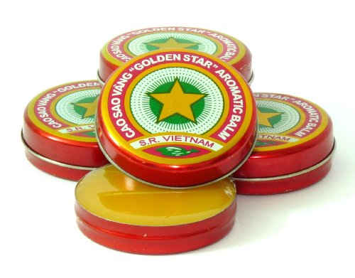10x Golden Star Aromatic Balm (je 4g = 40g) - Naturheilmittel Ätherische Öle