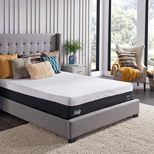 sealy most comfortable mattresses Sealy Conform Performance 11.5-Inch Cushion Firm Mattress, King, White