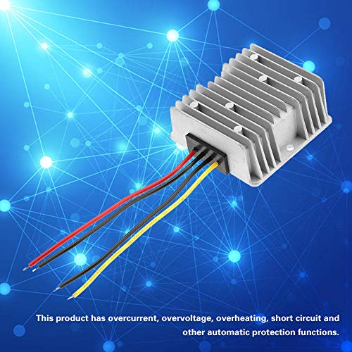 Regulador convertidor de voltios para vehículos Alta potencia 12V a 24V 10A Fuente de alimentación de configuración DC-DC Electrónica de alta eficiencia para robots Paneles fotovoltaicos