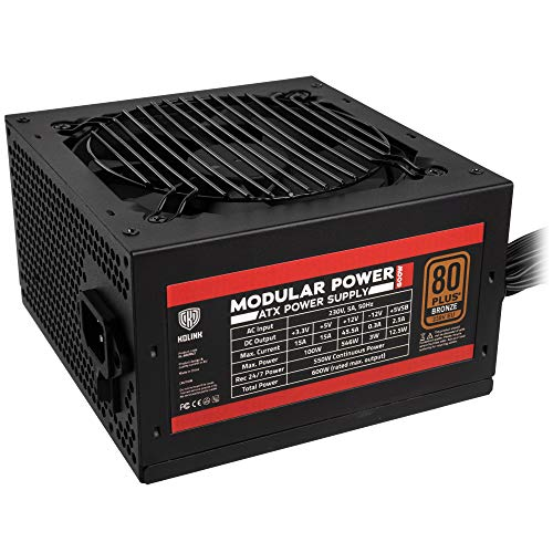 KOLINK Modular Power 80 Plus Bronze Netzteil - 600 Watt