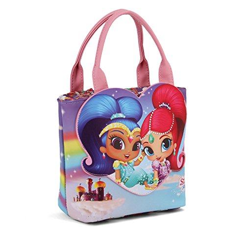 Karactermania Shimmer and Shine Shining Shopping Go handtas strandtas, 24 cm, violet (paars)